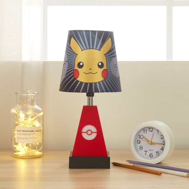 Pokemon Pikachu 2-in-1 Kids Lamp with Night Light