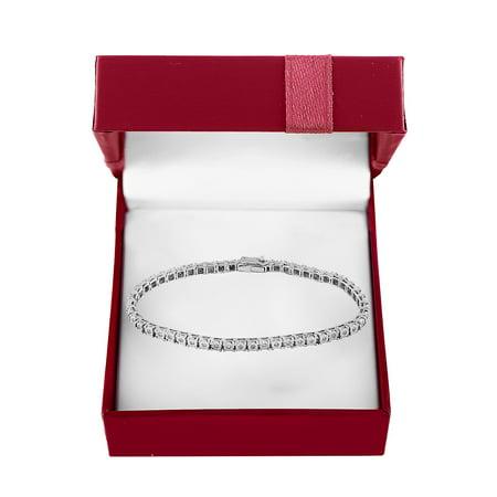 Boxed Super Buy 14K White Gold & 0.51 TCW Diamond Tennis Bracelet Alexandrite White Gold Bracelets