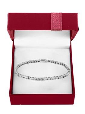 Boxed Super Buy 14K White Gold & 0.51 TCW Diamond Tennis Bracelet