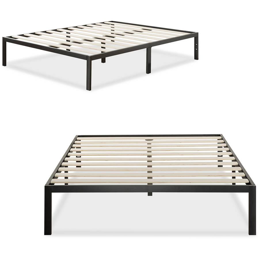 Modern Studio Metal Platform Bed 1000 by Zinus, Multiple Sizes