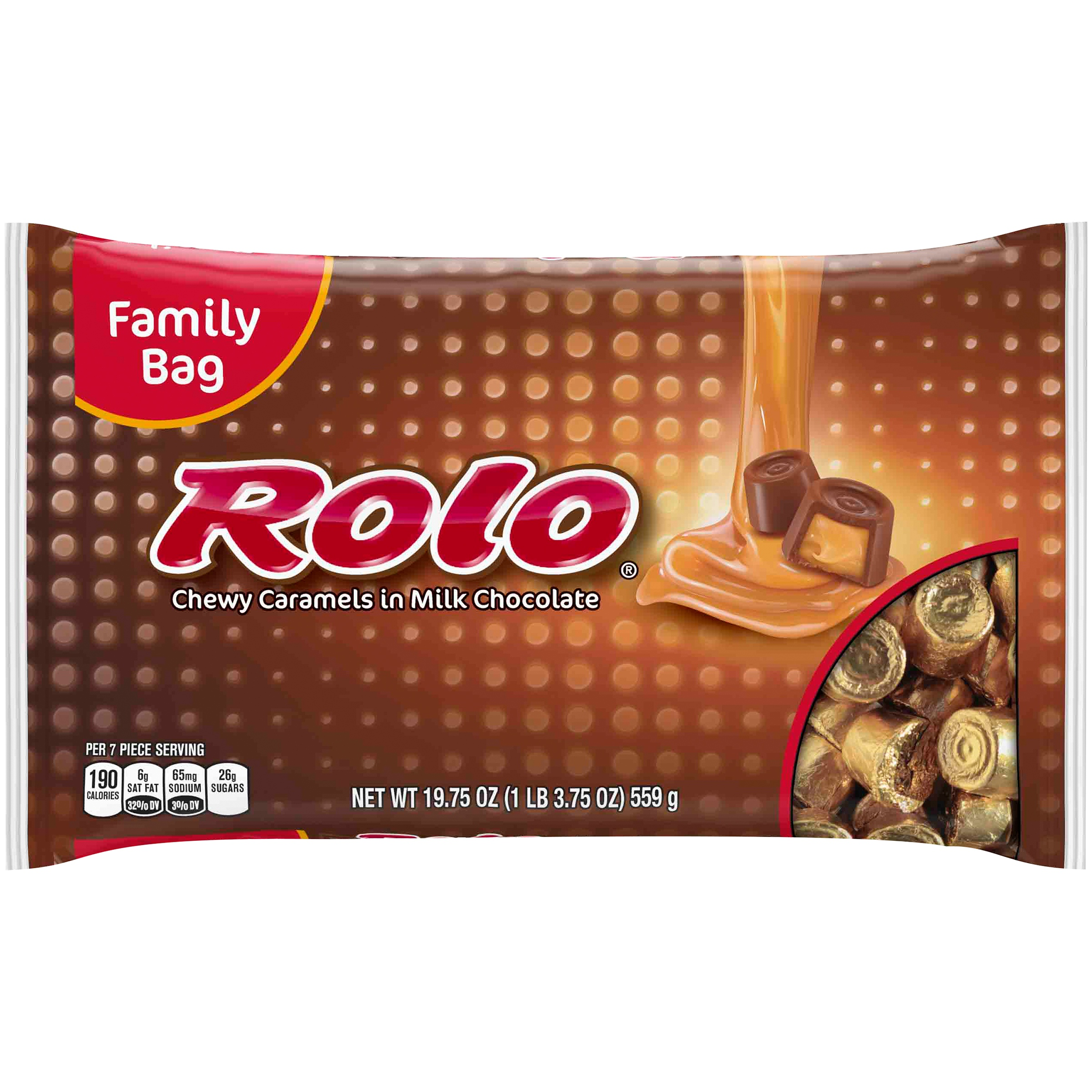 Rolo Chewy Caramels Milk Chocolate Candy, 19.75 oz by The Hershey Company