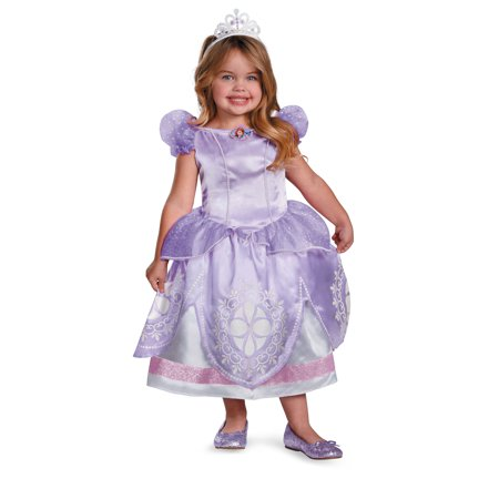 Sofia The First Disney Girls Deluxe Costume 56722 - 2T - Sofia The First Toddler Costume