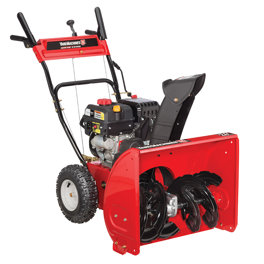 Yard Machines 24-Inch 208cc Two Stage Snow Thrower by MTD Products