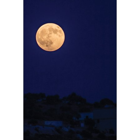 Poetose Notebooks: Full Moon from Syria by Samer Daboul - A Poetose Notebook / Journal / Diary (50 pages/25 sheets) (Paperback)