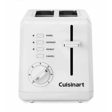 Cuisinart 2-Slot Compact Plastic Toaster CPT-122