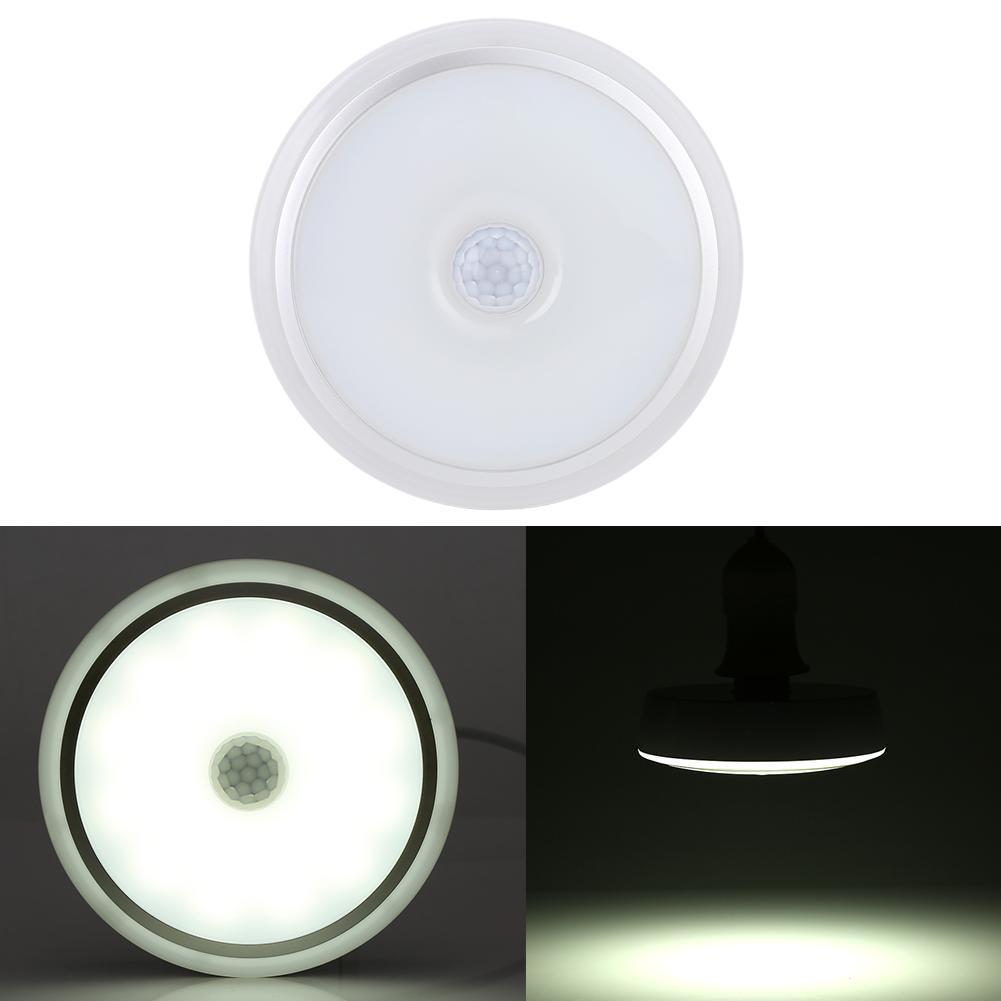 Motion Sensor Night Light,EECOO E27 12W PIR Infrared Motion Sensor LED Night Light Ceiling Down Lamp Bulb AC85-265V,Motion Sensor Down Lamp