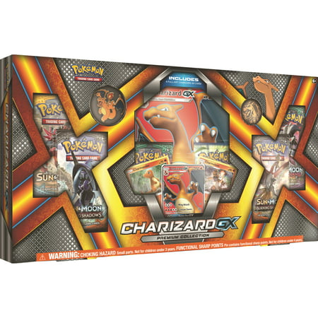 Pokemon TCG Charizard GX Premium Box Trading Cards](Quest Halloween Box Pokemon)
