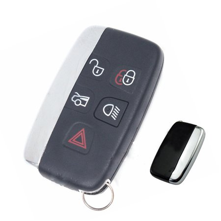KeylessOption Keyless Entry Remote Control Car Smart Key Fob Replacement  KOBJTF10A for Land Rover LR4 Range Rover Evoque