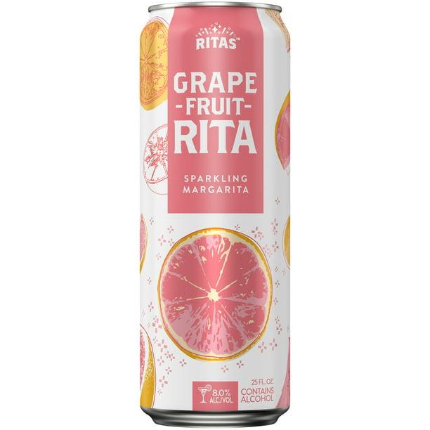 Ritas Guav-A-Rita Sparkling Margarita, 25 fl. oz. Can 8.0%