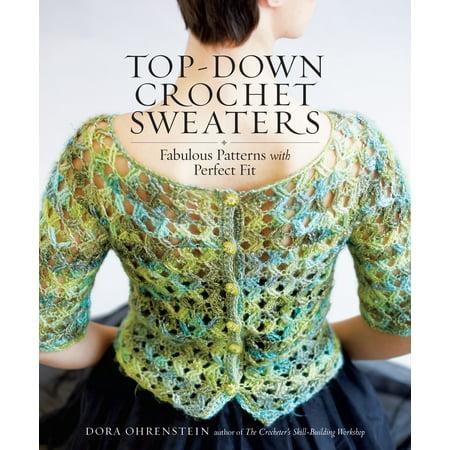 033e259ff95f Top-Down Crochet Sweaters - Paperback - Walmart.com