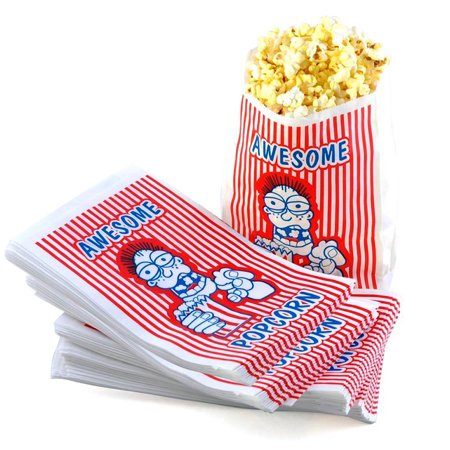 2 Ounce Movie Theater Popcorn Bag - Set of - The Popcorn Bag