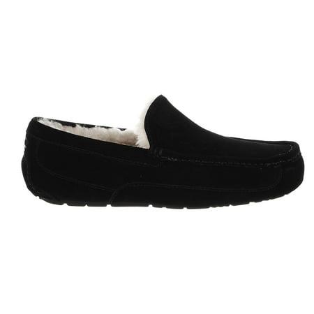 UGG Australia Ascot Slipper - Black 2 - Mens - 8 (Infant Ugg Slippers)
