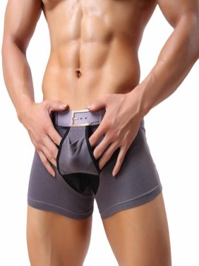 b1c9a28d3f95 Product Image Sexy Mens Breathe Underwear Briefs Bulge Pouch Shorts  Underpants BK L