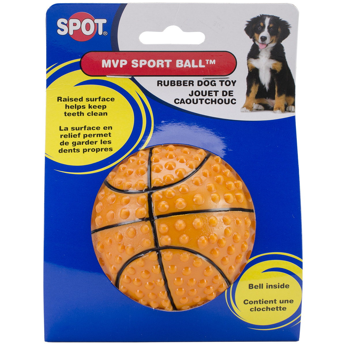 "MVP Sport Ball W/Bell 3.5""-Tennis, Soccer Or Basketball"