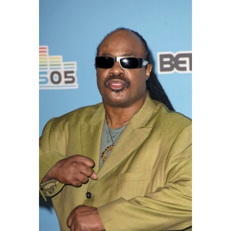 Stevie Wonder In The Press Room For Bet Awards 2005 The Kodak Theatre Los Angeles Ca June 28 2005 Photo By Michael GermanaEverett Collection Celebrity (Stevie X Factor Halloween)