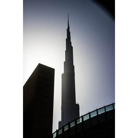 Canvas Print Dubai Burj Khalifa The World's Tallest Building Stretched Canvas 10 x