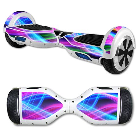 MightySkins Protective Vinyl Skin Decal for Hover Board Self Balancing Scooter mini 2 wheel x1 razor wrap cover sticker Light - Hoverboard Stickers