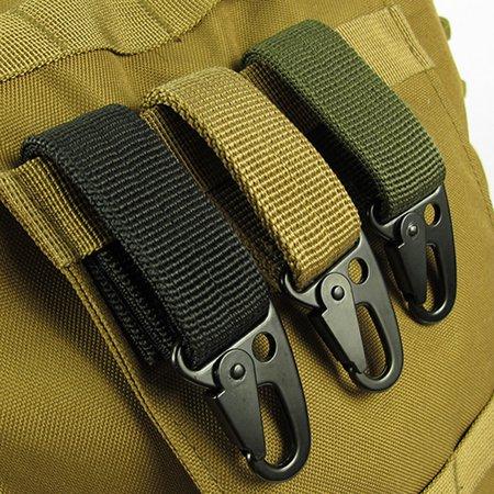 Outdoor Key Hook Buckle Hanging Keychains Carabiner For Belts Backpack Hot MZ
