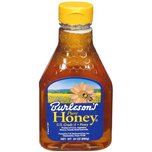 Burleson's Honey Pure, 24 oz