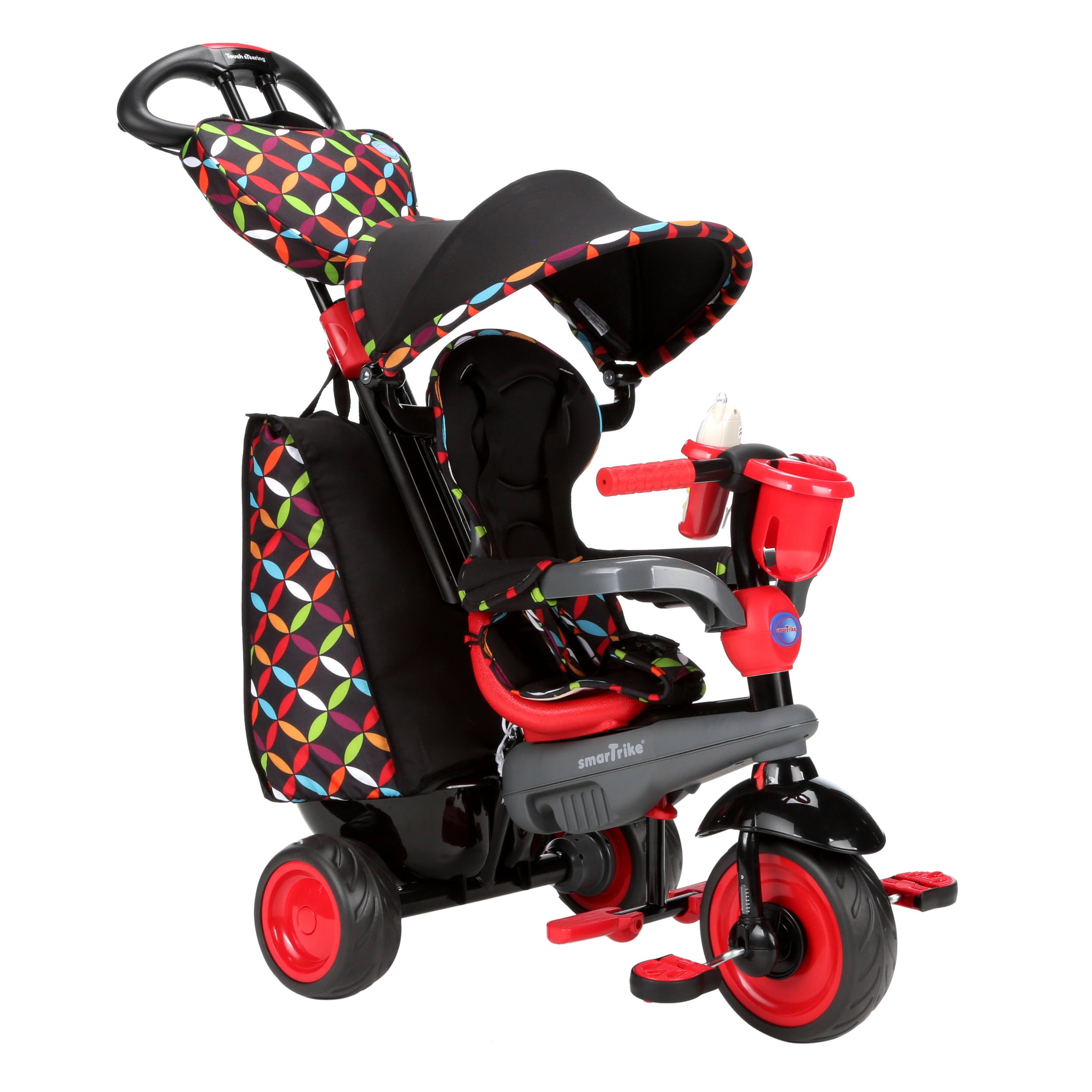 smarTrike Boutique 4-in-1 Tricycle, Red