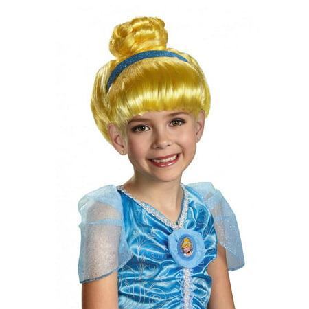 0532de81a477ac Disney Princess Girls Blonde Cinderella Wig - Walmart.com
