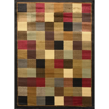 Home Dynamix Royalty Collection 8100-530 Brown/Blue Area Rug