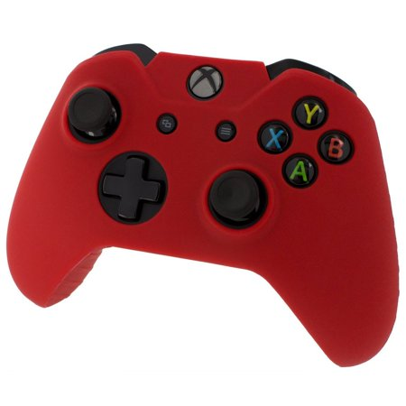 Xbox ONE© Controller Skin - RED - Case Silicone Cover Gel Rubber Protective