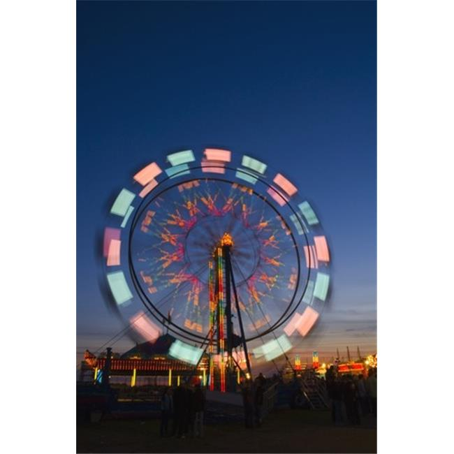 Posterazzi DPI1777747 Time Delay Ferris Wheel Poster Print by Corey Hochachka, 11 x 17 - image 1 of 1