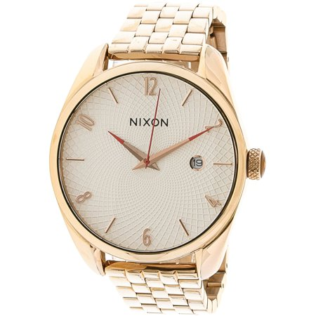 Nixon Womens Bullet A4182183 Rose Gold Stainless Steel Japanese Quartz Fashion Watch