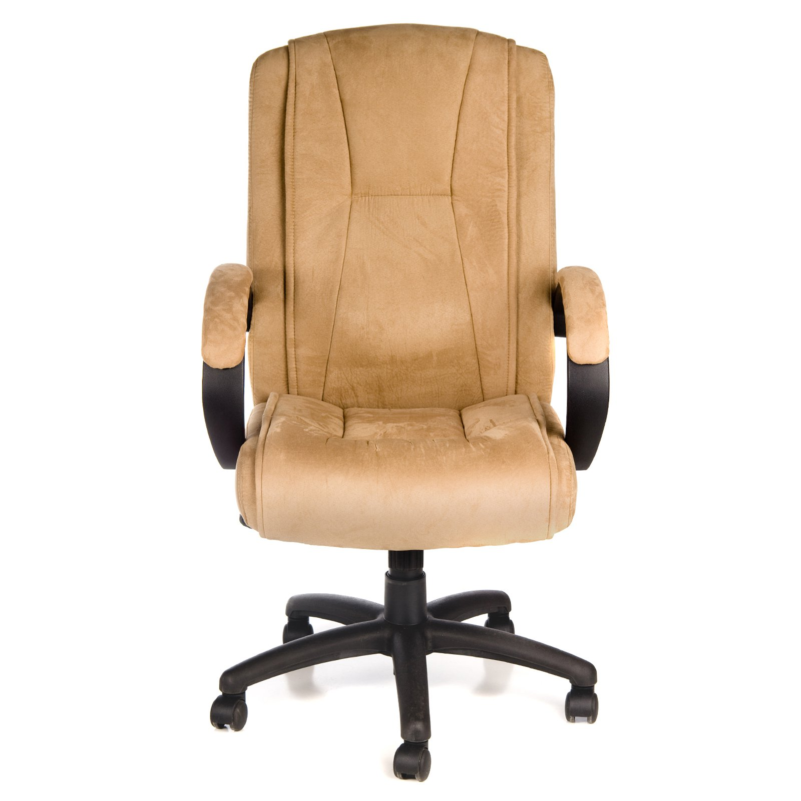 comfort products 60-0971 padded microfiber fabric executive chair