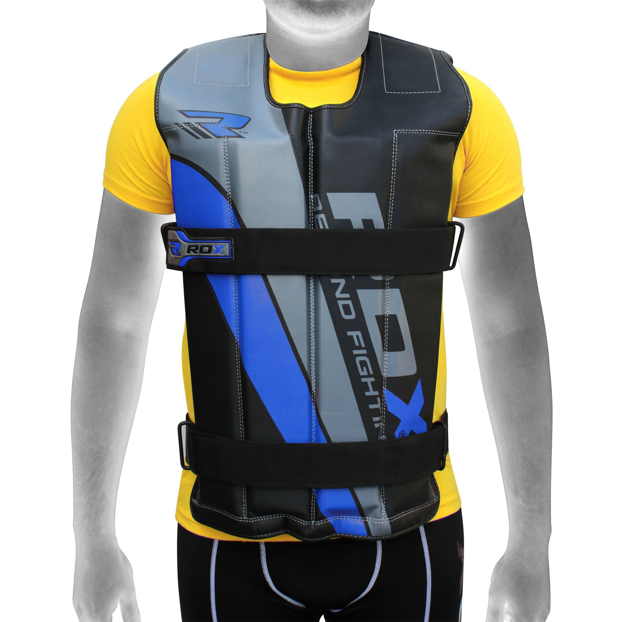 RDX ADJUSTABLE 14 TO 18 KG HEAVY WEIGHTED VEST PRO