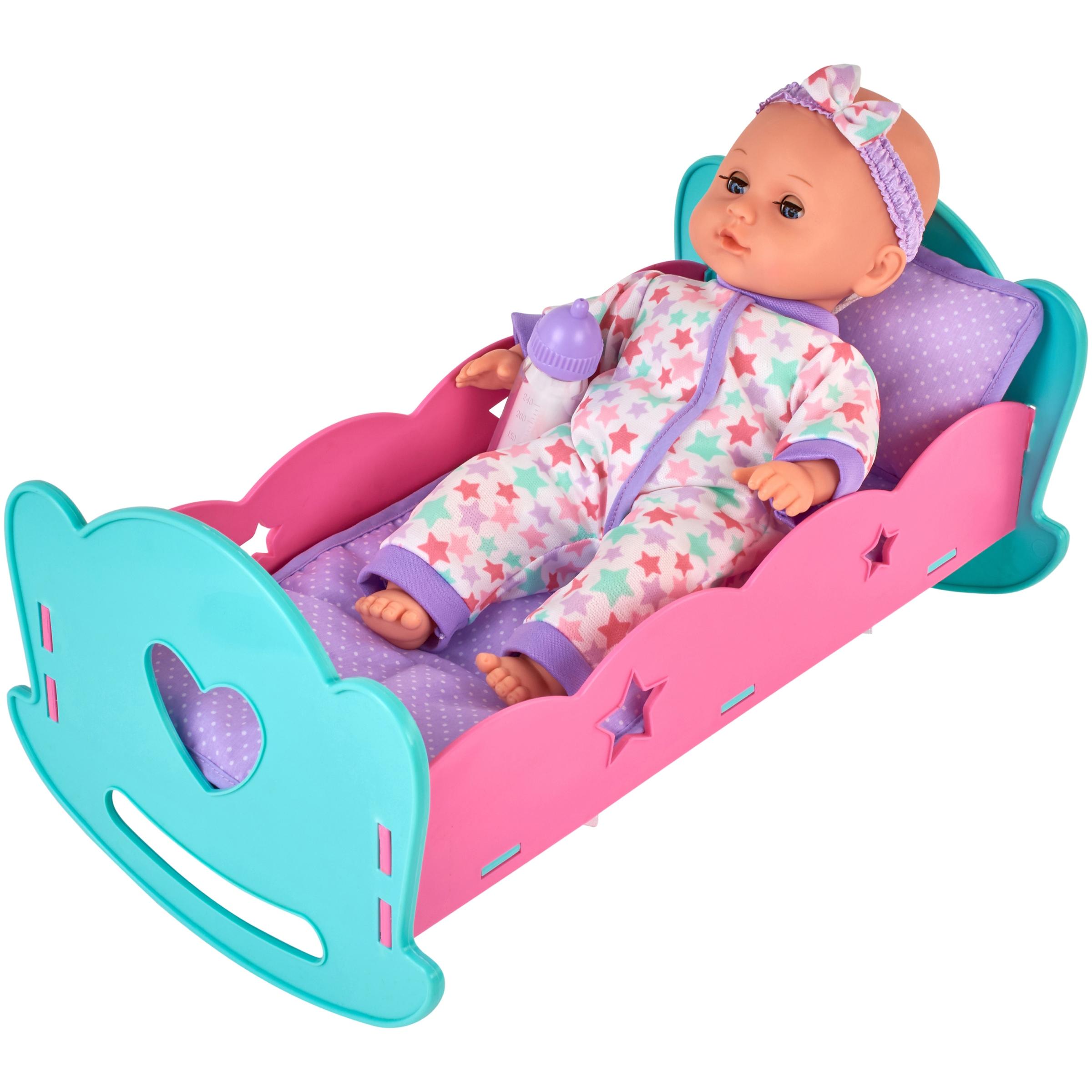 My Sweet Love Cradle & Baby 3 pc Box
