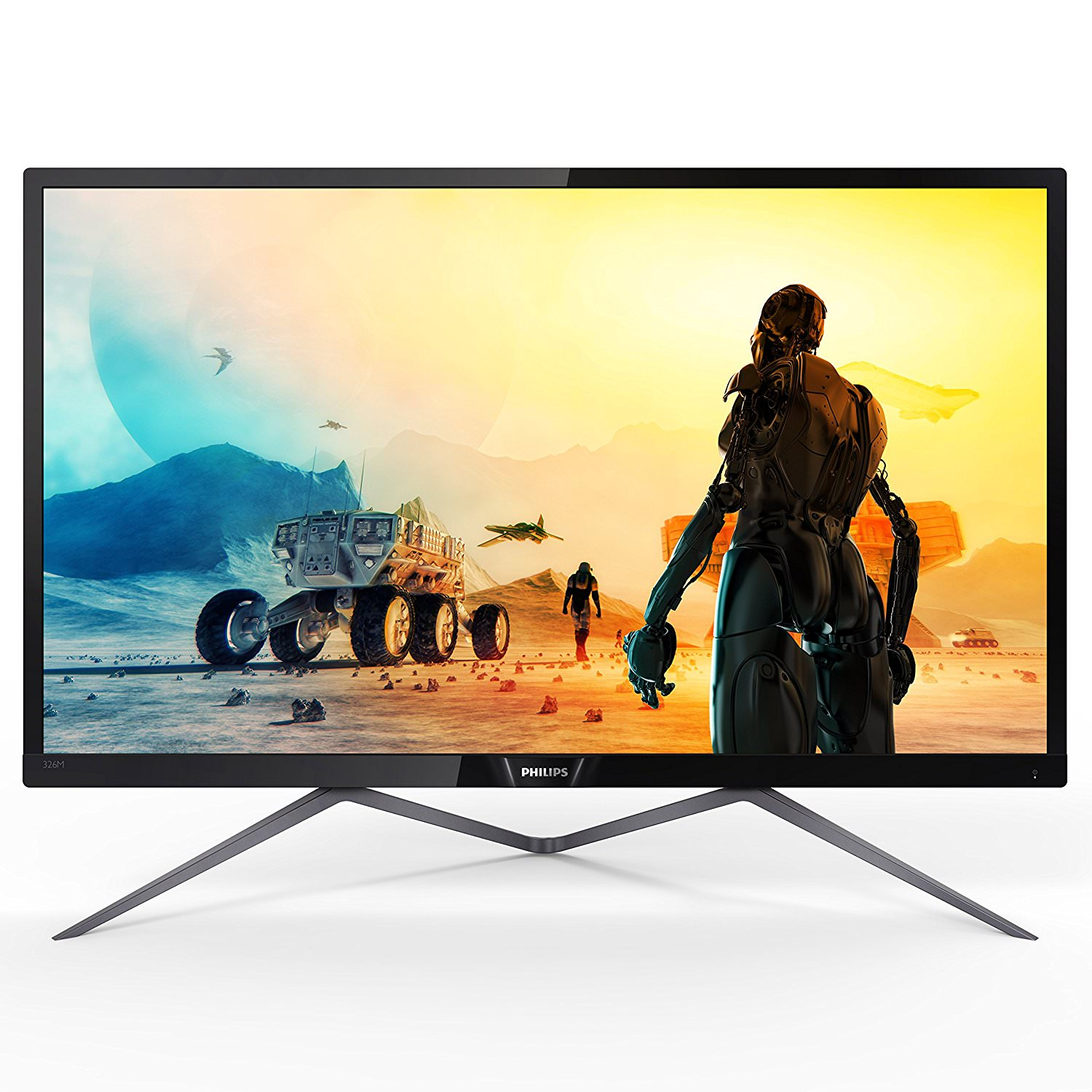 "Philips Monitor 32"" Class IPS Panel QUAD 2560x1440 Res VGA HDMI DisplayPortx2 326M6FJSB by Philips"