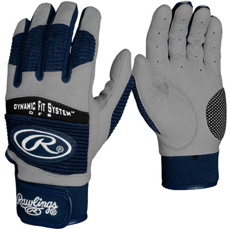 Rawlings BGP950T Adult Workhorse 950 Series Batting Glove Navy Small