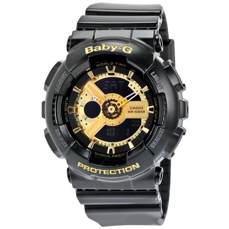 Baby G Black Resin Ladies Watch BA110-1A