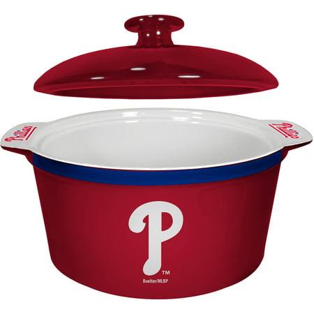 MLB Philadelphia Phillies Ceramic Game Time Oven Bowl by