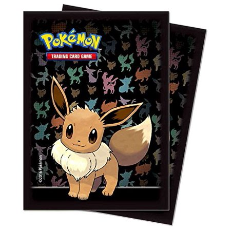 Trading Card Set Sleeves - Pokemon Card Supplies Eevee Card Sleeves [65 ct]
