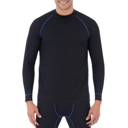 - Russell Big Mens Tech Grid Baselayer L3 Thermal Top