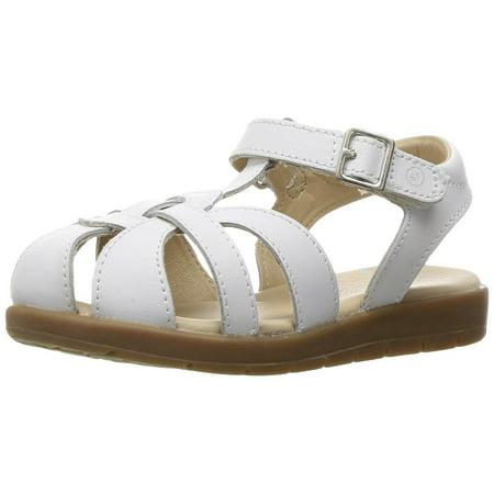 Stride Rite Summer Time Girls White Sandals