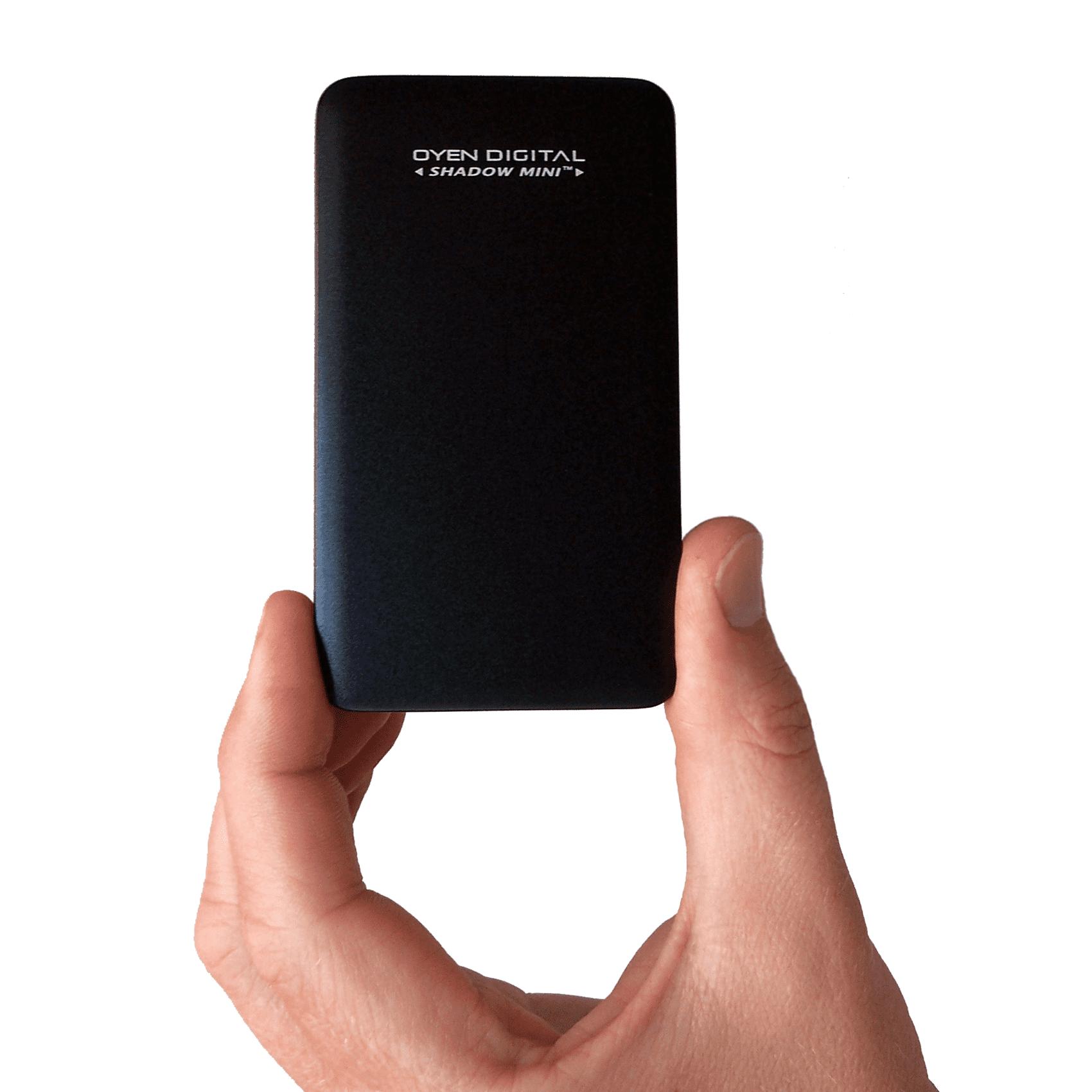 Shadow Mini External 1TB USB 3.1 Portable Solid State Drive SSD