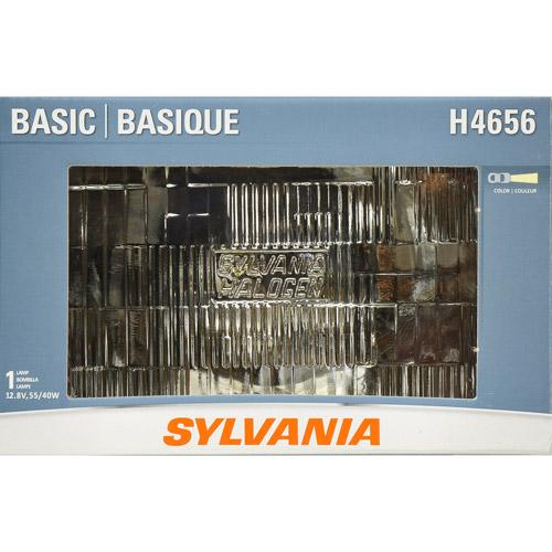 Sylvania H4656 Basic Headlight, Contains 1 Bulb