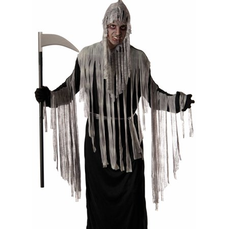 Forum Mens Scary Haunted Grim Reaper Ghost Halloween Costume