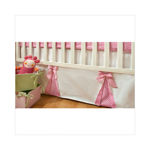 New Arrivals Pink Sugar Crib Bedding Set