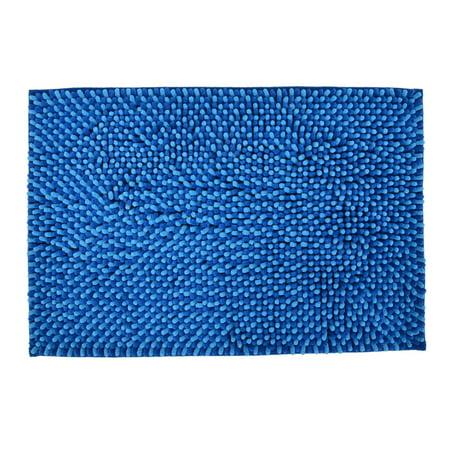 Anti Slip Indoor Living Room Bedroom Floor Area Rug Carpet Pad 24 X 16 Blue
