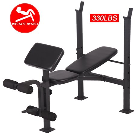 Adjustable Weight Lifting Multi-Function Bench Fitness Exercise Strength