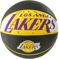 Spalding NBA Los Angeles Lakers Team Logo Basketball