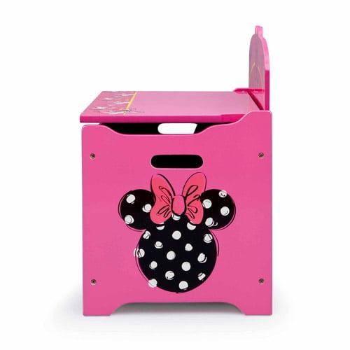Carnival Toy Box Pink: Pink Toy Storage Chest Bin Organizer Box Trunk Girls Kids
