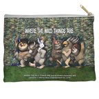 Where The Wild Things Are Wild Rumpus Dance Accessory Pouch White 8.5X6