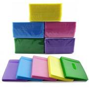 CD/DVD Storage Sleeves,100PCS CD DVD Double Sided Cover Storage Case PP Bag Sleeve Envelope Holder