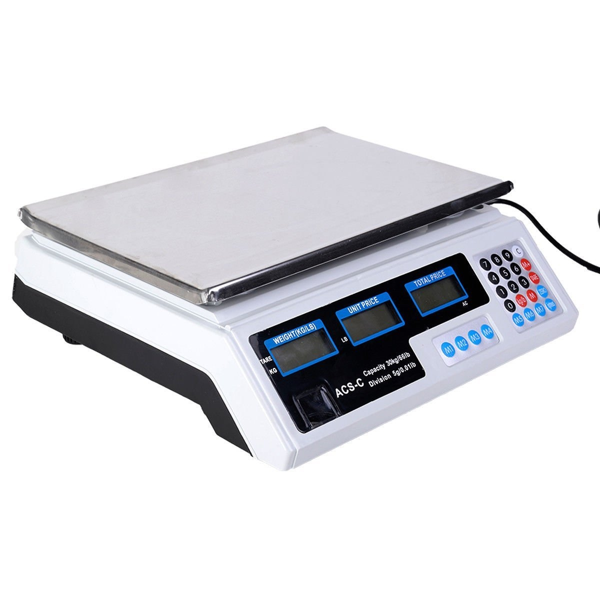 Super buy 66 LB Digital Scale Price Computing Deli Food P...